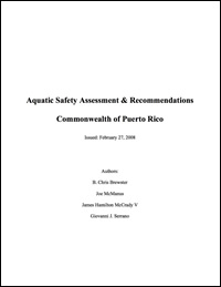 Aquatic Safety Assessment & Recommendations Commonwealth of Puerto Rico