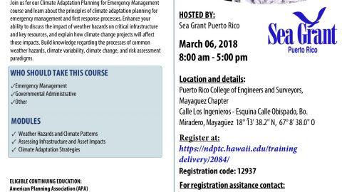 Noaa habitat blueprint puerto rico sea grant college program climate change adaptation planning for emergency managers awr 347 malvernweather Gallery