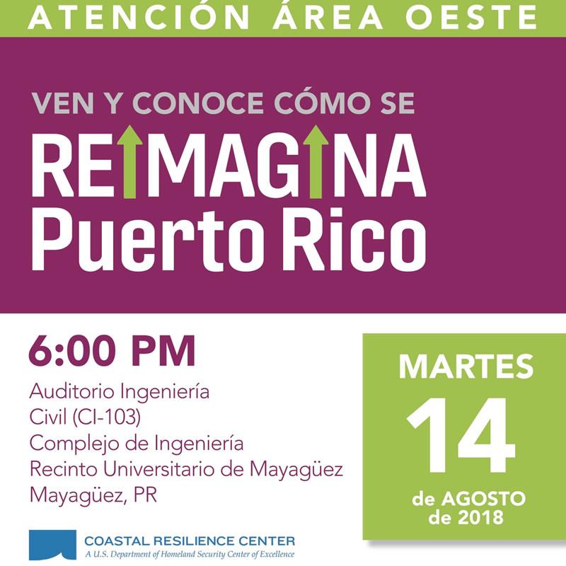 Ven y conoce cómo se reimagina Puerto Rico
