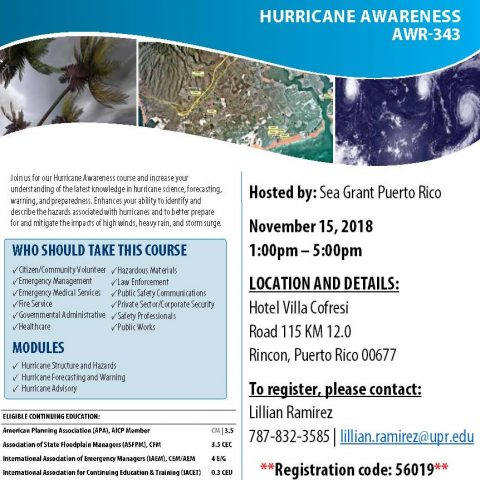 Hurricane Awareness AWR-343