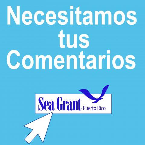 Solicitud de comentario público para la evaluación del Programa Sea Grant de la UPR