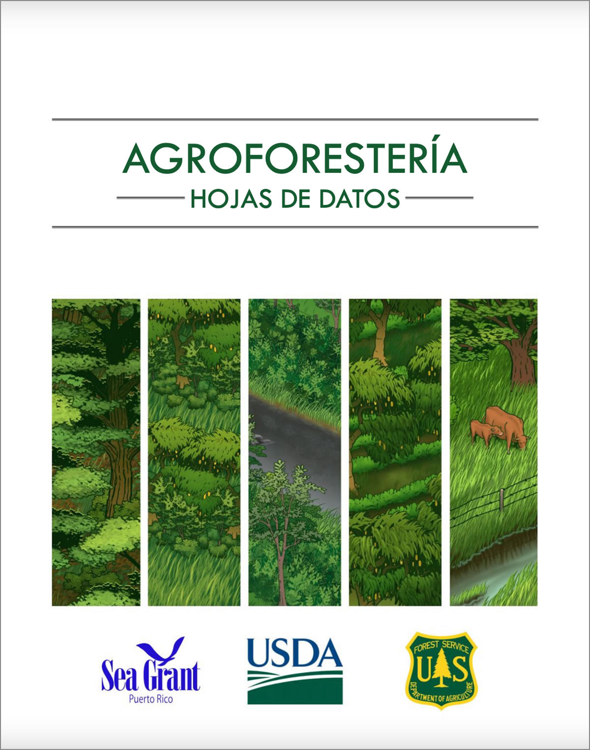 Hojas de datos de agroforestería